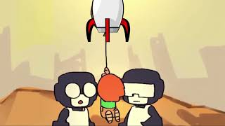 Baby Pico Fly but his balloon is rocket