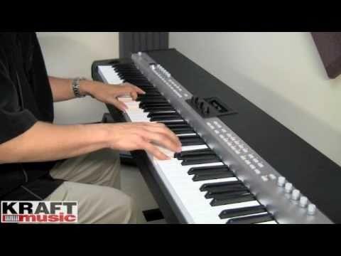 Kraft Music - Yamaha CP5 Stage Piano Demo with Tony Escueta