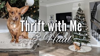 Thrift with Me+Goodwill Home Decor Thrift Haul Christmas 2018