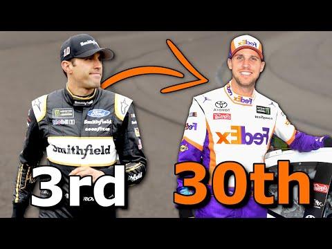 NASCAR Mid-Race Driver Changes 2