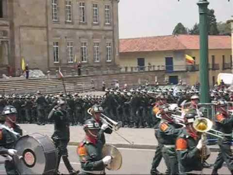 Juramento a la bandera de la guardia Presidencial de la Republica de Colombia