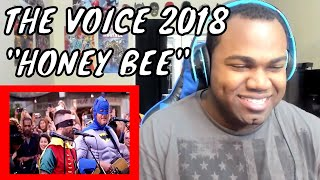 "The Voice Coaches Perform Blake Shelton's ""Honey Bee"" - The Voice 2018 (Digital Exclusive) REACTION"