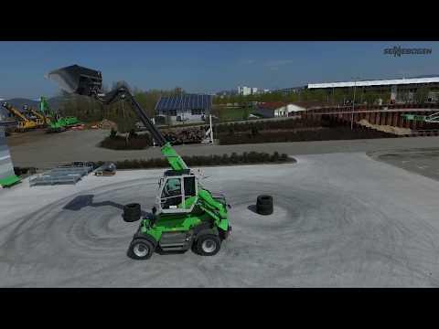 SENNEBOGEN 355 E Produktvideo - der neue Teleskoplader für die Recycling-Industrie