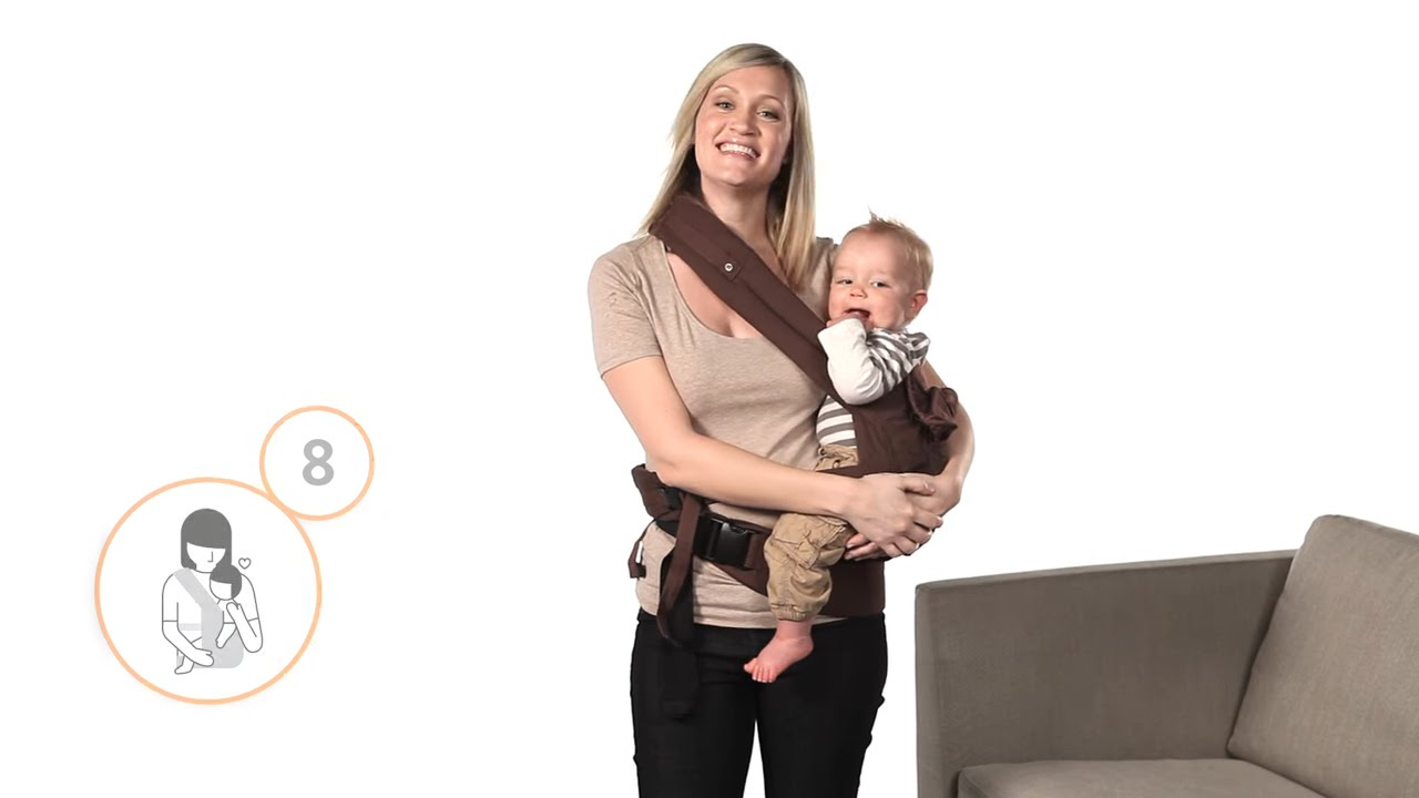 How To Hip Carry In The Ergobaby Carrier Youtube