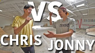 ANYTHING ON FLATGROUND COUNTS | CHRIS CHANN VS JONNY GIGER