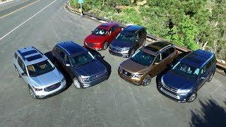2017 Midsize SUV Comparison - Kelley Blue Book