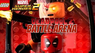 LEGO Marvel Super Heroes 2- Deadpool 2 Battle Arena!! Colossus Vs. Domino Vs. Cable Vs. Bedlam