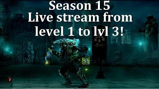 Diablo 3 Season 15 - The start of a new season live!
