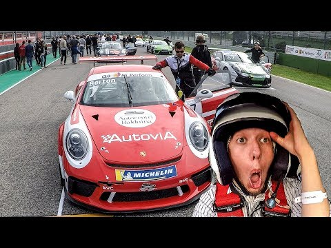 Surprise Experience in the Porsche 991 GT3 CUP! w/ Q8HiPerform [Sub ENG]