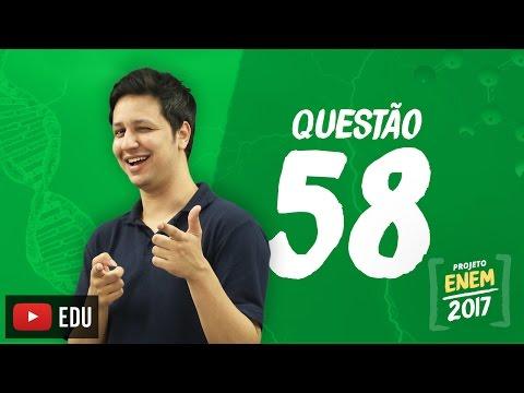 Enem 2016: Questão58(CadernoBranco)