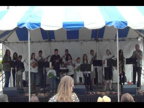 Fiesta De Los Pen Bertrand's Music Ukulele Experience Group Performance 2013 Part 2