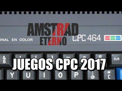 AMSTRAD CPC: JUEGOS DE 2017: AMSTRAD ETERNO