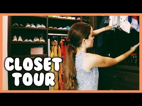 A WALK INSIDE MY CLOSET (and all my strange attachments)