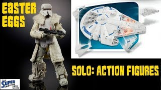 Solo: A Star Wars Story Action Figure Spotlight & Easter Eggs. What the toys tell us.