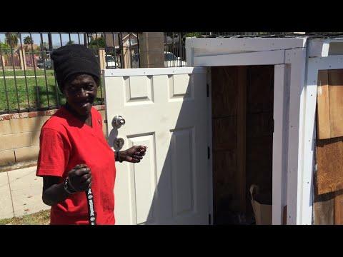 Man Builds Homeless Woman A Tiny House