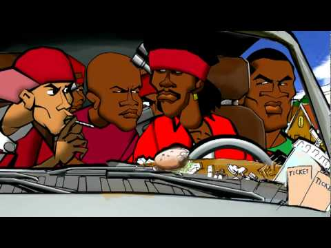 Video gangs of la 1991 animated cartoon version youtube - Blood gang cartoon ...