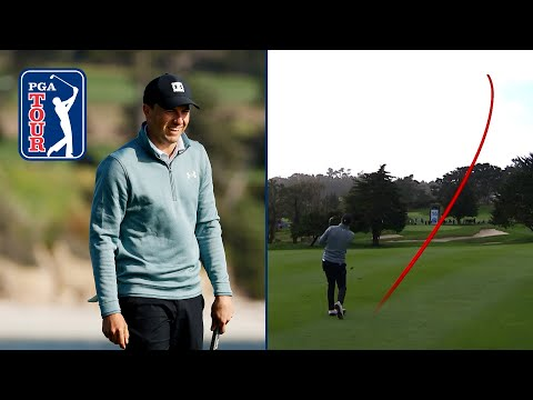 All of Jordan Spieth hole-outs from the 2020-21 season