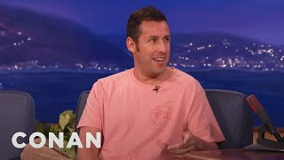 Adam Sandler's SNL Meals With Chris Farley & Michael Keaton  - CONAN on TBS