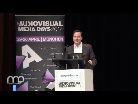 """Vortrag: Richard Gutjahr über """"VoD - Quo Vadis? Ein Ausblick"""""""
