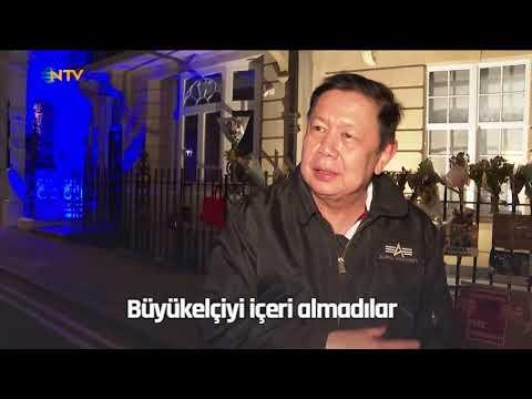 NTV | Londra'da Myanmar gerilimi