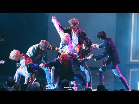 171119 BTS(방탄소년단) DNA Full Performance @ AMAs 2017 Fancam 4K