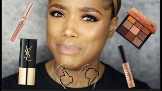 FIRST IMPRESSIONS: YSL FOUNDATION, STUDIO FIX CONCEALER, HUDA BEAUTY & MORE | Ellarie