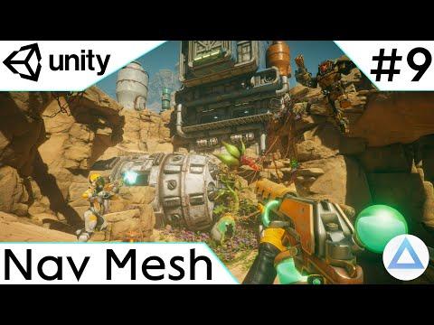CREA un VIDEOJUEGO de DISPAROS en Unity Tutorial 2021🔫/Maya Navegacion y Mini Animacion/9-Capitulo