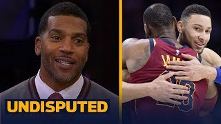 Jim Jackson questions if LeBron joining Embiid, Simmons in Philly is a good fit | NBA | UNDISPUTED