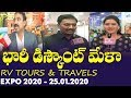 RV Tours & Travels 2020 Expo | Rv Ramana Face To Face On Discounts&Tour Package | 25.01.2020