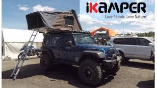 one of the biggest hardshell rooftop tents by ikamper