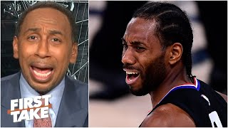 Kawhi 'flat out choked!' - Stephen A. reacts to the Clippers losing Game 7 | First Take