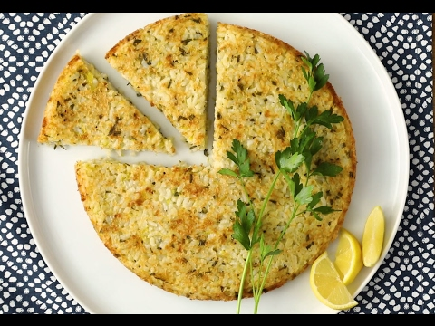 Risotto Recipe - How to Make Lemon and Herb Risotto Cake
