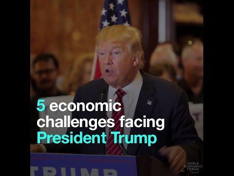 5 economic challenges facing President Trump