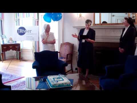 Rivier University celebration, part 2