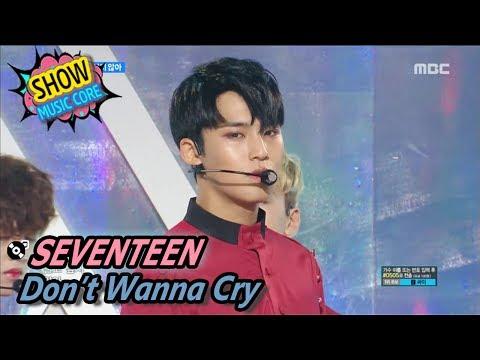 [Comeback Stage] SEVENTEEN - Don't Wanna Cry, 세븐틴 - 울고 싶지 않아 Show Music core 20170527