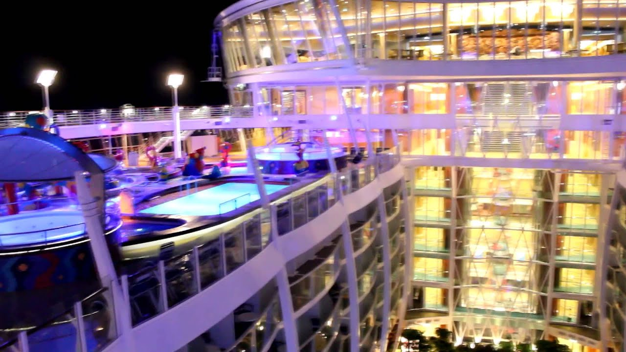 Allure of the Seas Inside & Out - YouTube