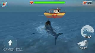 ►  Jaws The Revenge Returns - Hungry Scary Shark Evolution 3D #3 Android Gameplay