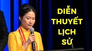 Bài diễn thuyết đi vào lịch sử của nữ LS Trần Kiều Ngọc tại Đại hội Giới trẻ Thế giới vì Nhân Quyền