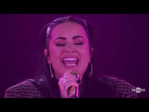 Demi Lovato live at Rock the Vote's Unmute Your Voice Concert