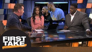 Kyrie Irving never wanted LeBron James to return to Cleveland   First Take   ESPN