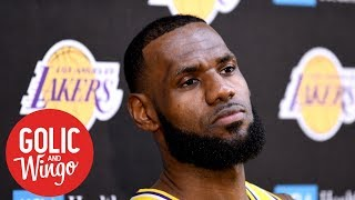 LeBron managing expectations for 2018-19 Lakers squad   Golic & Wingo   ESPN