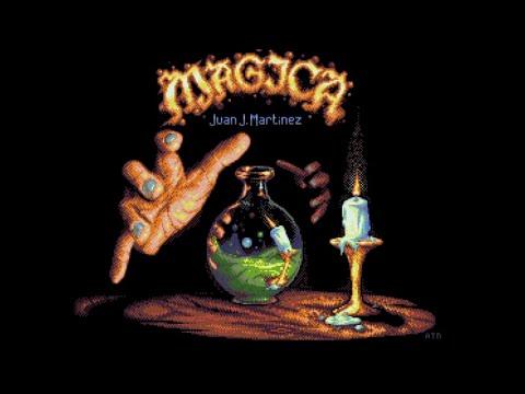 | MAGICA FOR COMMODORE AMIGA | ANDY NOBLE GAME FROM REIDRAC CPC ORIGINAL
