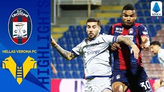 Crotone 2-1 Hellas Verona |Ounas & Messias got on the scoresheet as Crotone beat Verona| Serie A TIM