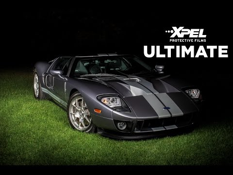 Ford GT XPEL Clear Bra Paint Protection Installation by Rose Detailing