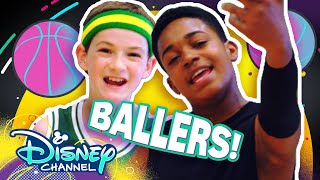 Let's Be Basketball Players 🏀| Do it Duo | Raven's Home | Disney Channel