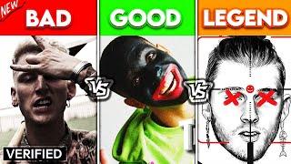 BAD DISSTRACKS vs GOOD DISSTRACKS vs LEGENDARY DISSTRACKS!