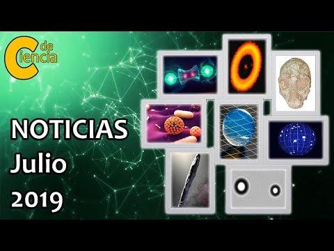 Noticias científicas julio 2019