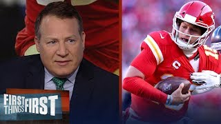 Eric Mangini on Mahomes: I don't understand how nobody can contain him | NFL | FIRST THINGS FIRST
