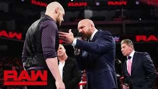 The McMahon family gives Baron Corbin a chance at redemption: Raw, Dec. 17, 2018