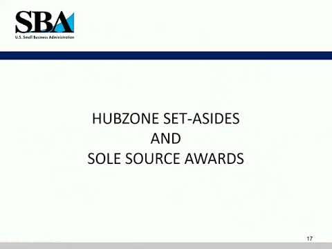 HUBZone Contracting:  Make the Federal Government Your Customer